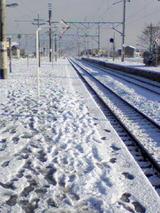 とある駅からの風景。