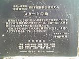 東日本縦断駅伝スタートの碑