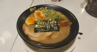 豚骨Wチャーシュー麺味玉入