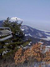 大鰐から見る岩木山-1