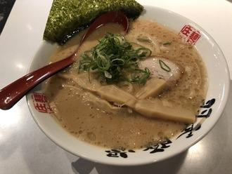 羽釜豚骨らぁ麺