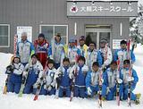 大鰐スキースクールの皆さん。