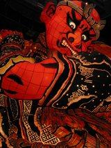 立佞武多「杙(くい)」は齊藤さん作、です