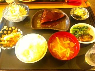 ひょうたん_さば味噌定食